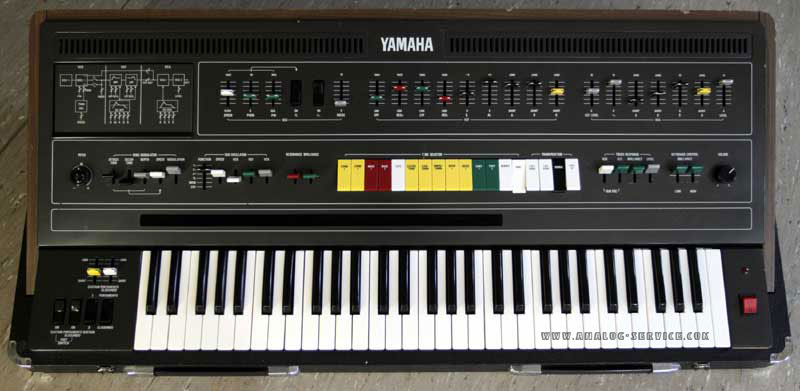 yamaha synthesizer cs60